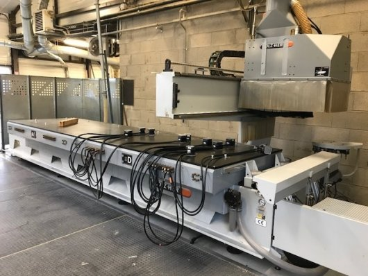Centre d'usinage HOLZHER uni-master 7120 F