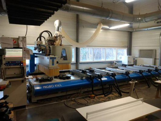 Centre d'usinage 4 Axes MASTERWOOD PROJECT 416L