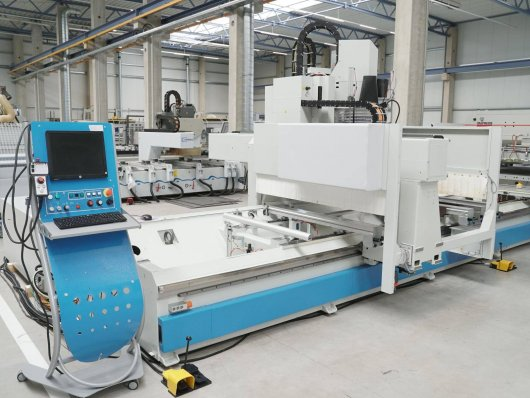 Centre d'usinage MASTERWOOD PROJECT 375 L 5 Axes