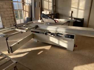 SCM SI 350 N sliding table saw