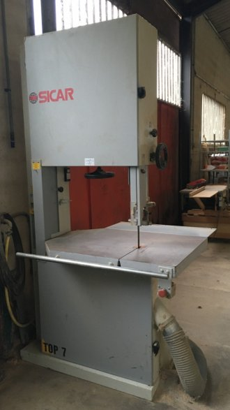 SICAR Top 7 band saw